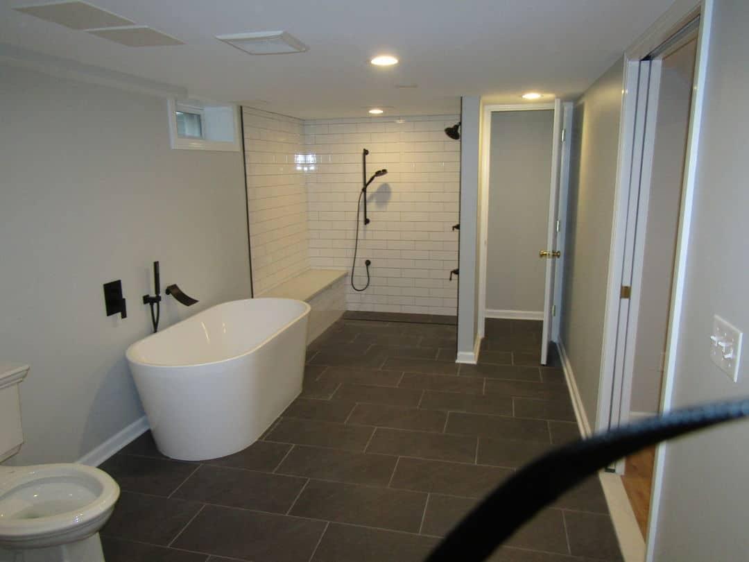 Basement Bathroom Installation Renovations Better Built Basements