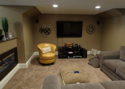 Lynn A., Finished Basement Remodel In Burlington, Ct