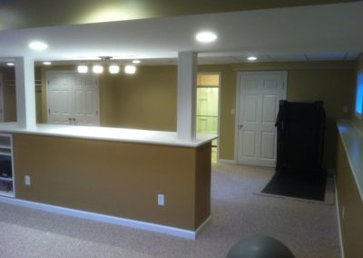 Raja A., Finished Basement Renovation in Plantsville, CT