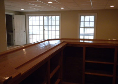 Ana P., Custom Bar Basement Remodel in Broad Brook, CT