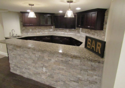 Basement Bar Design, Installation & Renovations