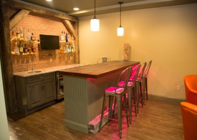 Ted Y., Basement Bar Remodel in Glastonbury, CT