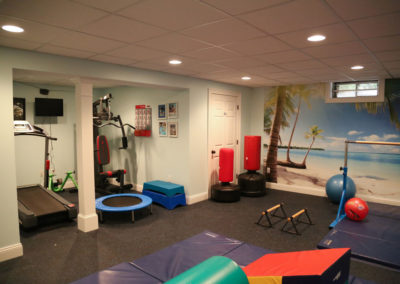 Lisa N., Home Gym Basement Remodel in Avon, CT
