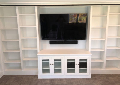 Tiffany M., Custom Built In Shelving In Woodbridge, Ct