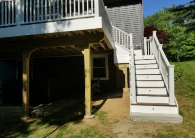 Jeff M., Deck Installation in East Hampton, CT