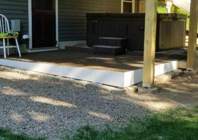 Jeff M., Deck Installation in East Hampton, CT