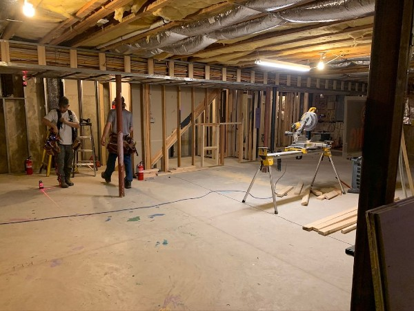 Basement Renovation In Connecticut - Before & After
