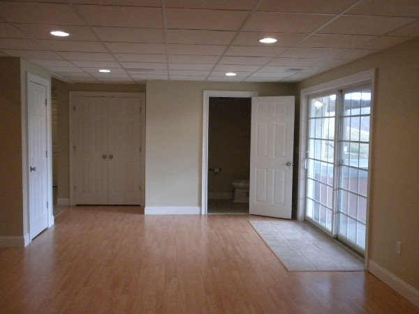 Finished Basement Before And After Pictures For Remodel Inspiration